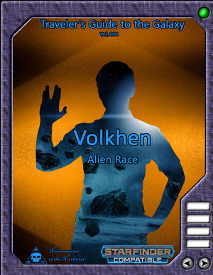 Traveler's Guide to the Galaxy 004: Volkhen Alien Race