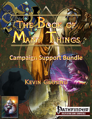 The Book of Many Things Campaign Bundle