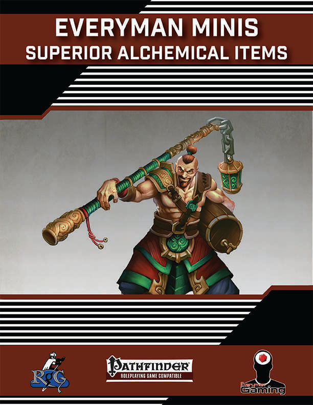 Everyman Minis: Superior Alchemical Items