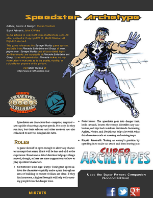 Super Archetypes: Speedster