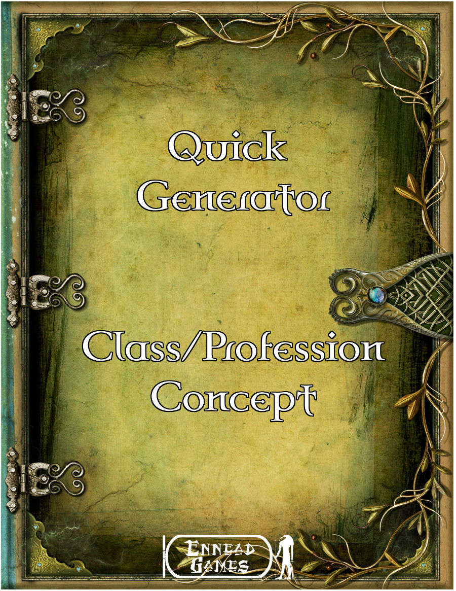 Quick Generator - Class/Profession Concept