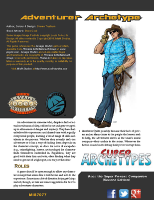 Super Archetypes: Adventurer