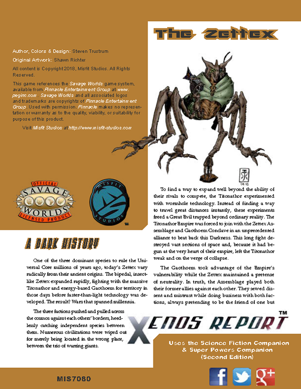 Xenos Report: The Zettex