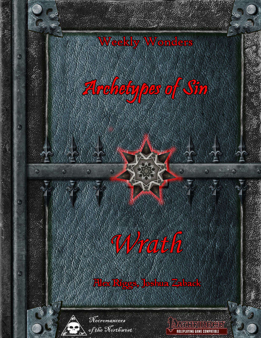 Weekly Wonders - Archetypes of Sin Volume VII - Wrath