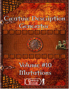 Creature Description Generator - Volume 10 - Mutations