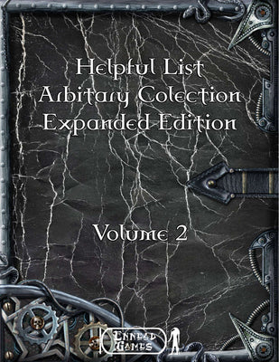 Helpful List Arbitrary Collection Expanded Volume 2