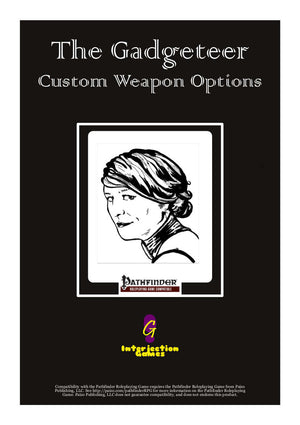 The Gadgeteer - Custom Weapon Options