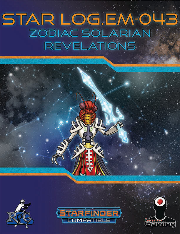 Star Log.EM-043: Zodiac Solarian Revelations