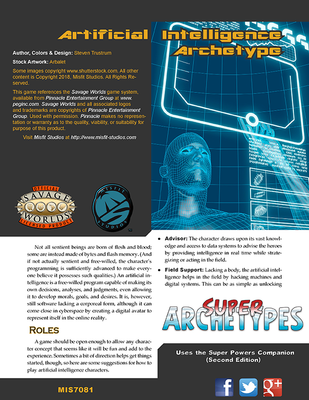 Super Archetypes: Artificial Intelligence