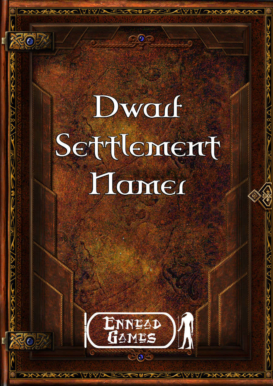 Dwarf Settlement Namer
