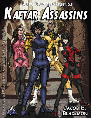 Super Powered Legends: Kaftar Assassins