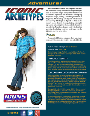 Iconic Archetypes: Adventurer