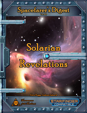 Spacefarer's Digest 014 - Solarian Revelations