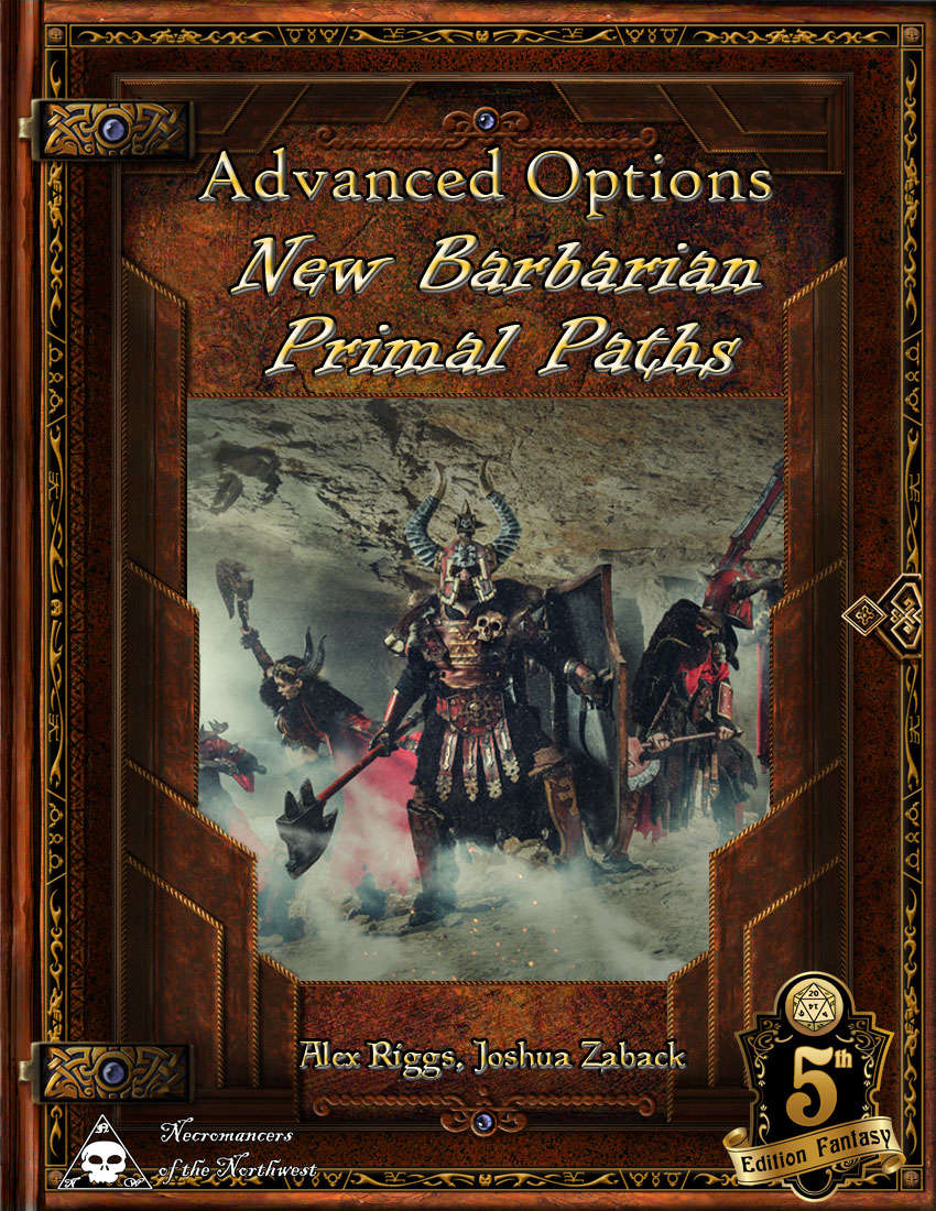 Advanced Options: New Barbarian Primal Paths