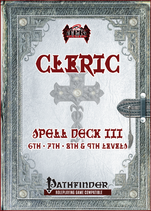 Cleric Spell Card Deck III