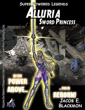 Super Powered Legends: Alluria, Sword Princess