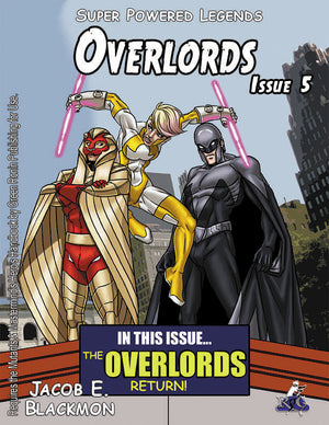 Super Powered Legends: Overlords Issue 5