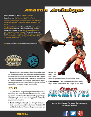 Super Archetype: Amazon