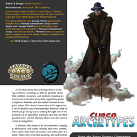 Super Archetypes: Mystery Man