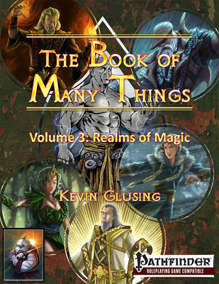 The Book of Many Things Volume 3: Realms of Magic
