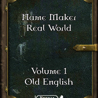 Name Maker Real World Volume 1- Old English