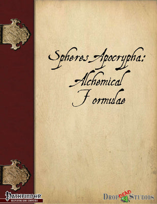 Spheres Apocrypha: Alchemical Formulae