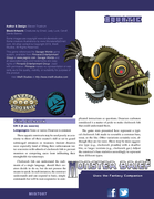 Monster Brief: Aquatic