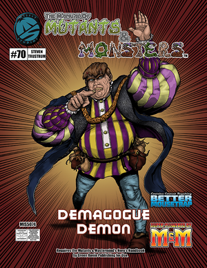 The Manual of Mutants & Monsters Demagogue Demon