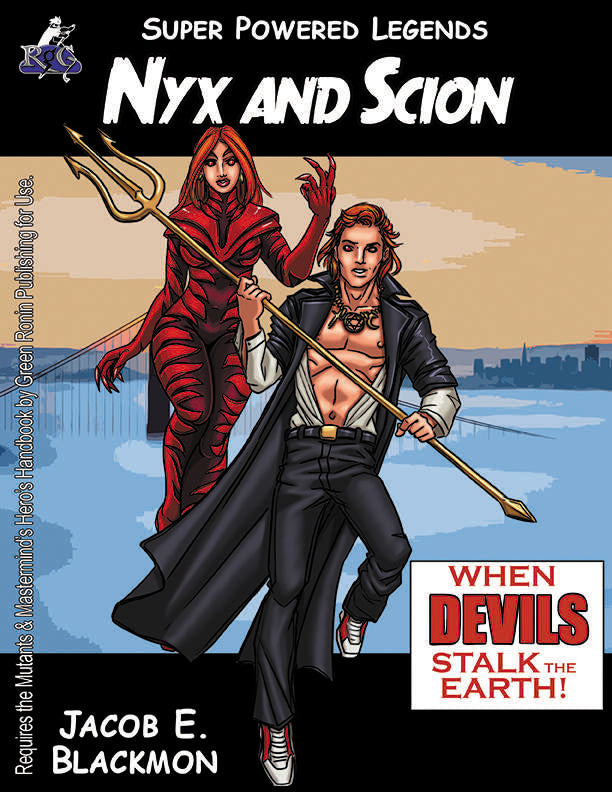 Super Powered Legends: Nyx and Scion