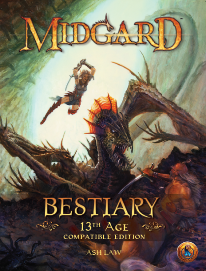 Midgard Bestiary: 13th Age Compatible Edition