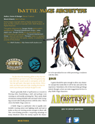 Fantasy Archetypes: Battle Mage