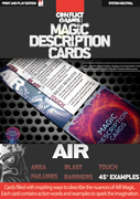 Magic Description Cards: Air Magic
