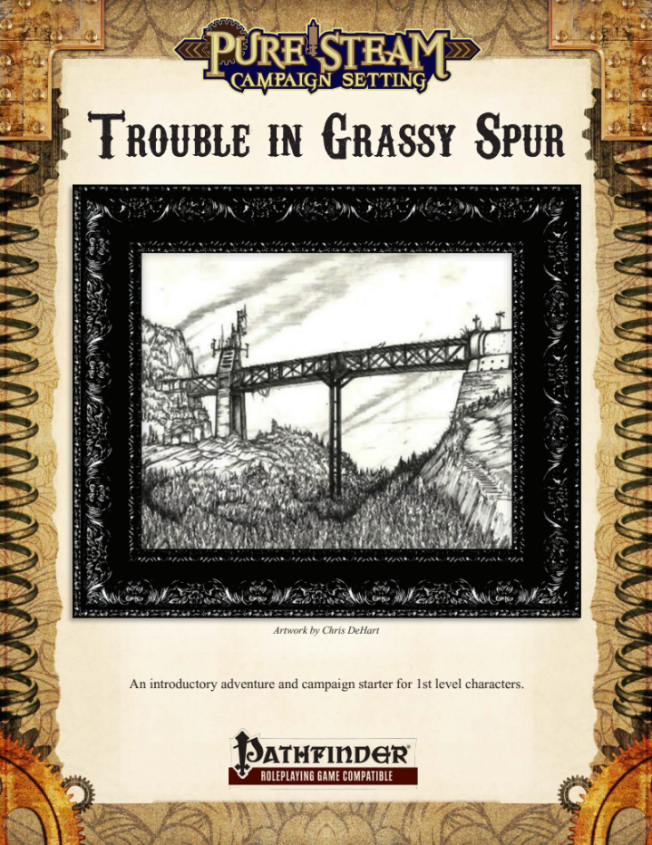 Trouble in Grassy Spur - PF