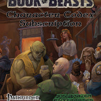 Book of Beasts: Character Codex Subscription (PF1e)