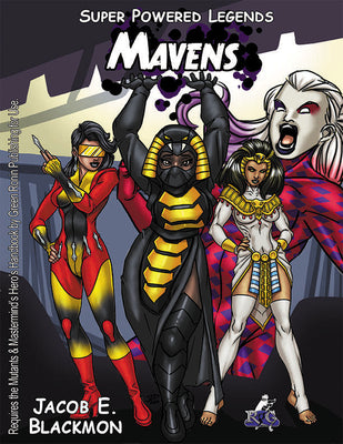 Super Powered Legends: The Mavens