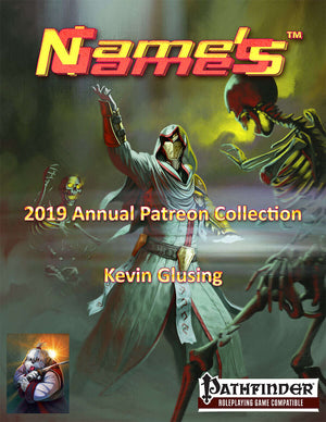 Name's Games 2019 Annual Collection