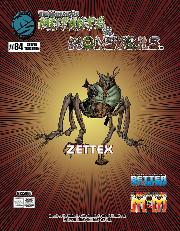 The Manual of Mutants & Monsters: Zettex