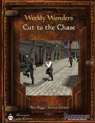 Weekly Wonders - Cut to the Chase