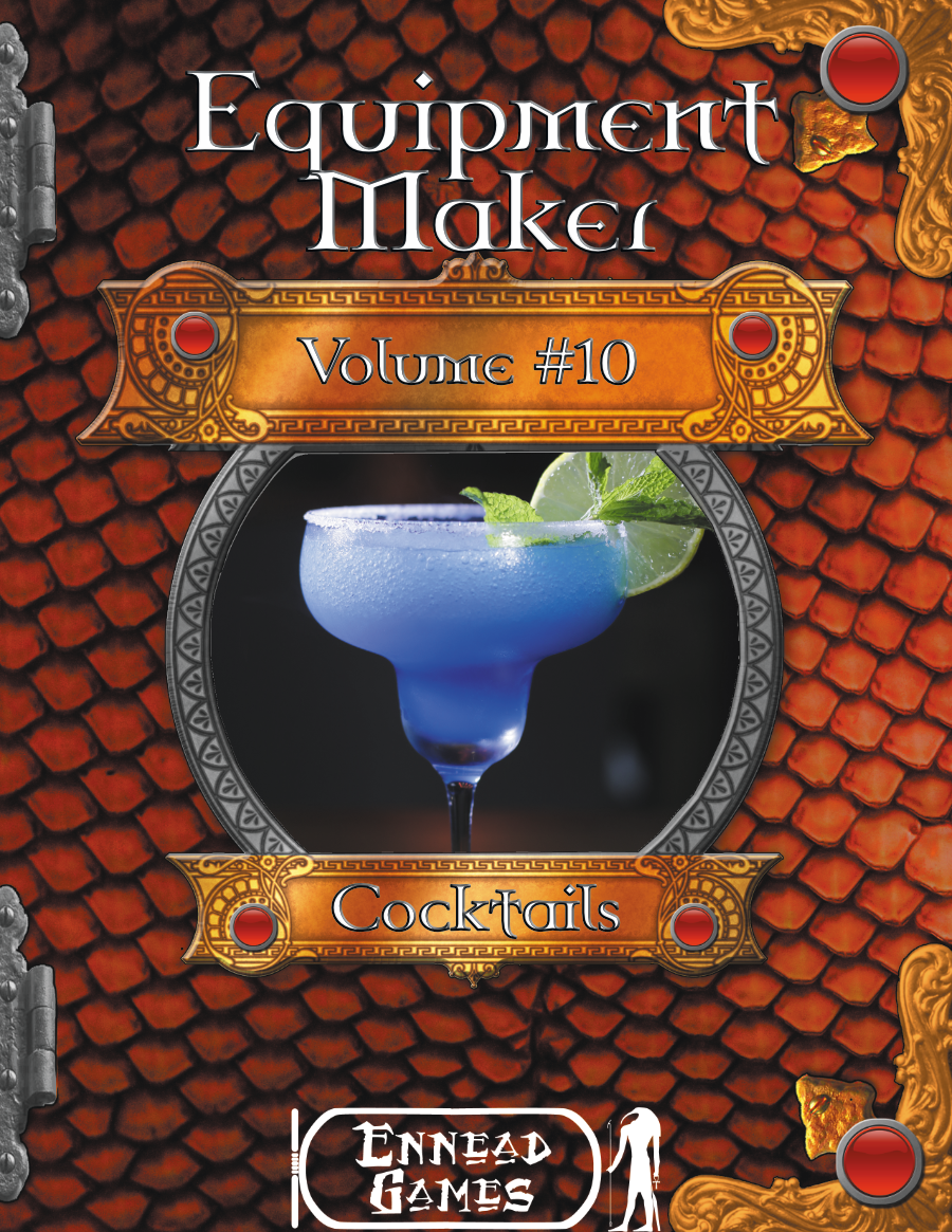Equipment Maker #10 - Cocktails
