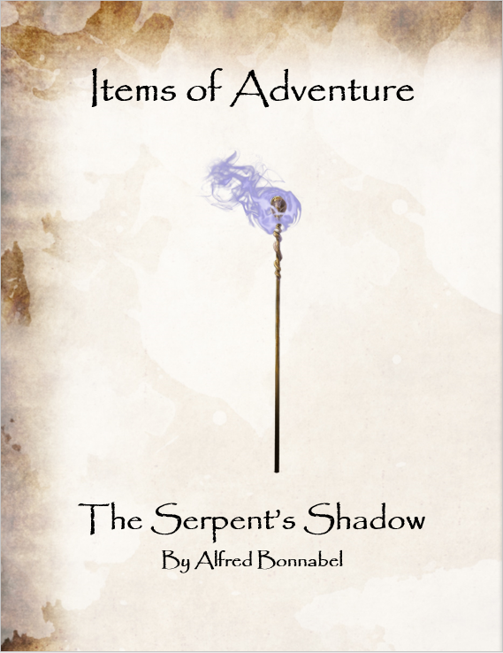Items of Adventure - The Serpent's Shadow