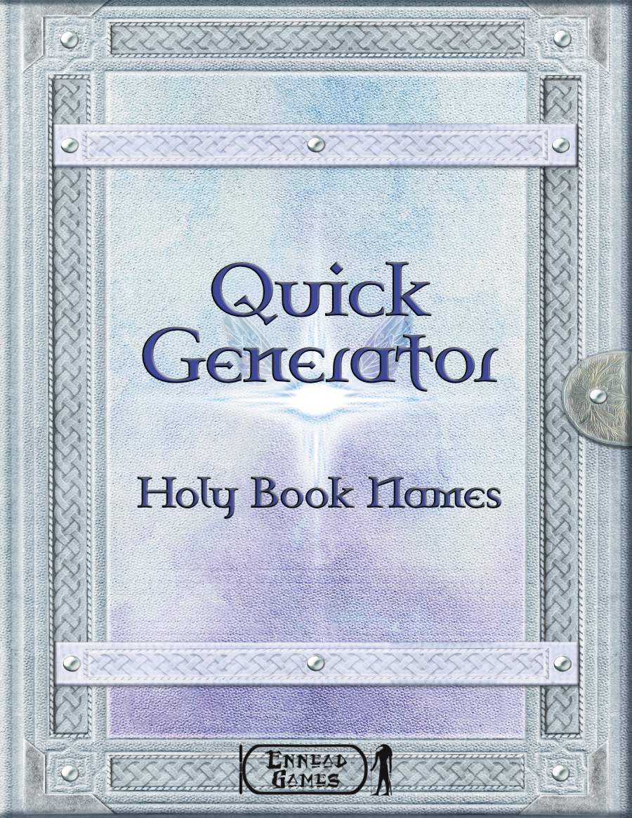 Quick Generator - Holy Book Name