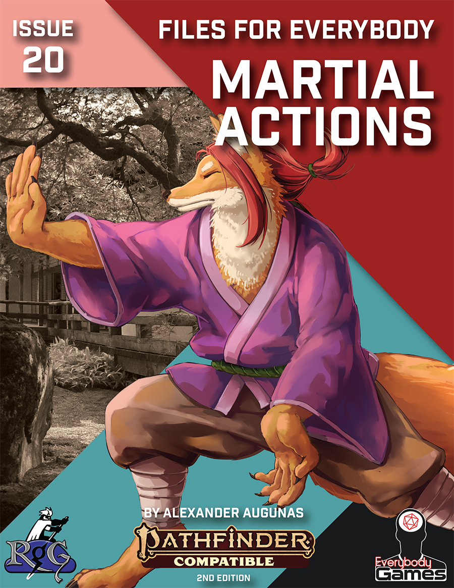 Files for Everybody: Martial Actions