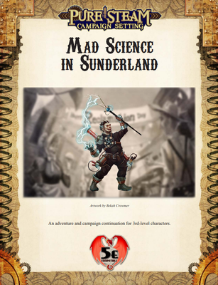 Mad Science in Sunderland - 5e