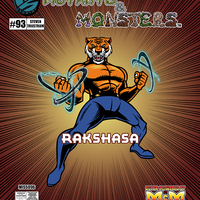 The Manual of Mutants & Monsters Rakshasa