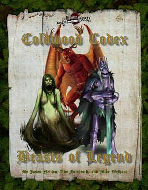 Beasts of Legend: Coldwood Codex (Pathfinder Second Edition)