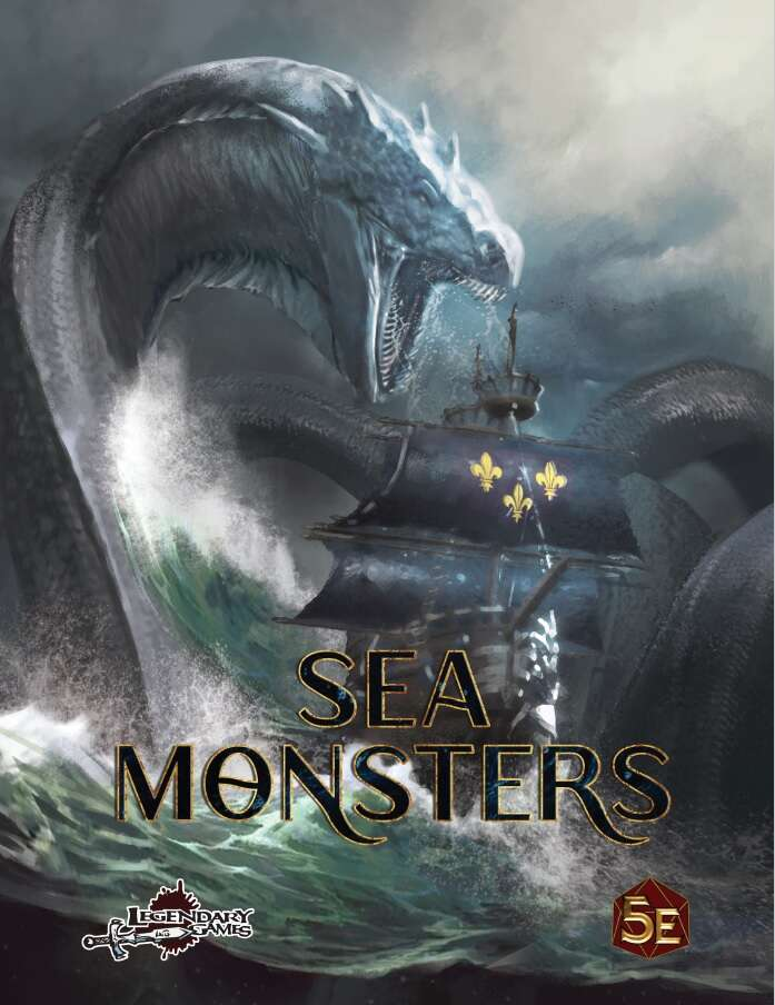 Sea Monsters Preview PDF (5E)