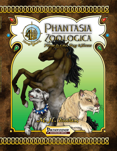 Phantasia Zoologica Volume I: Cats, Dogs & Horses
