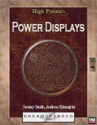 High Psionics: Power Displays