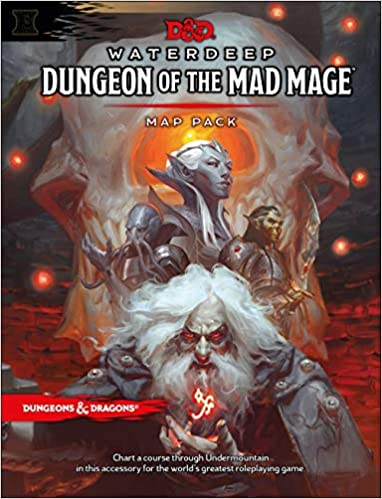 Dungeons & Dragons Waterdeep: Dungeon of the Mad Mage Maps and Miscellany (Dungeons & Dragons 5e)