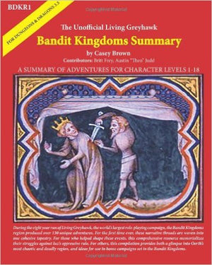 BDKR1: The Unofficial Living Greyhawk Bandit Kingdoms Summary